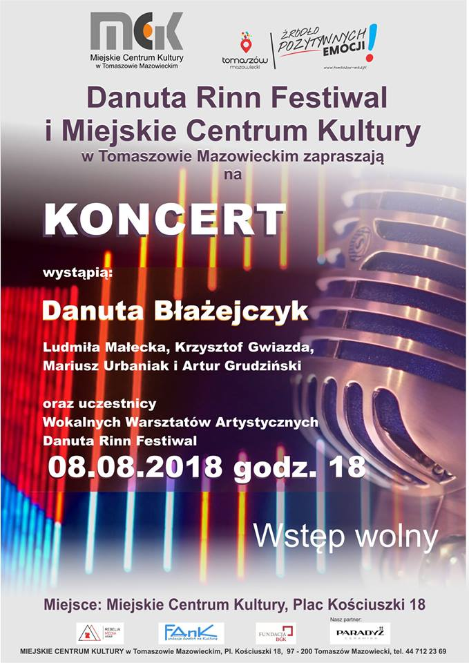 Koncert uczestników wokalnych warsztatów artystycznych