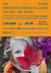 Zajęcia dla dzieci Fun Kids - Bal Jesieni