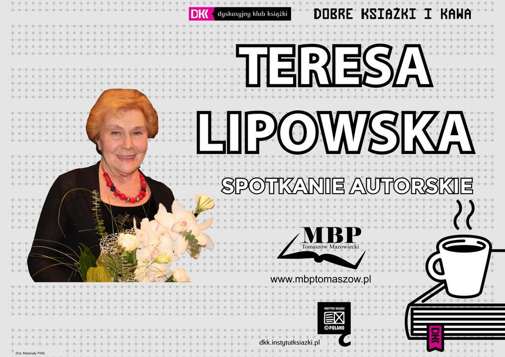 Spotkanie autorskie z Teresą Lipowską w Bibliotece