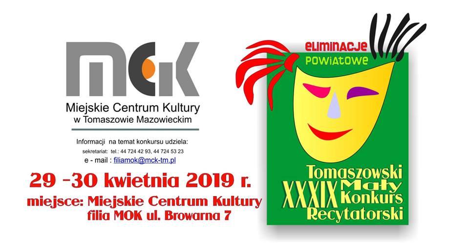 Tomaszowski XXXIX Mały Konkurs Recytatorski