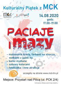 Kulturalny Piątek z MCK - PACIAJE I MAZY