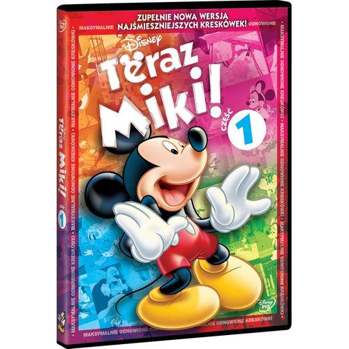 """Bajanie na szklanym ekranie - projekcja filmu animowanego """"Teraz Miki!"""""""