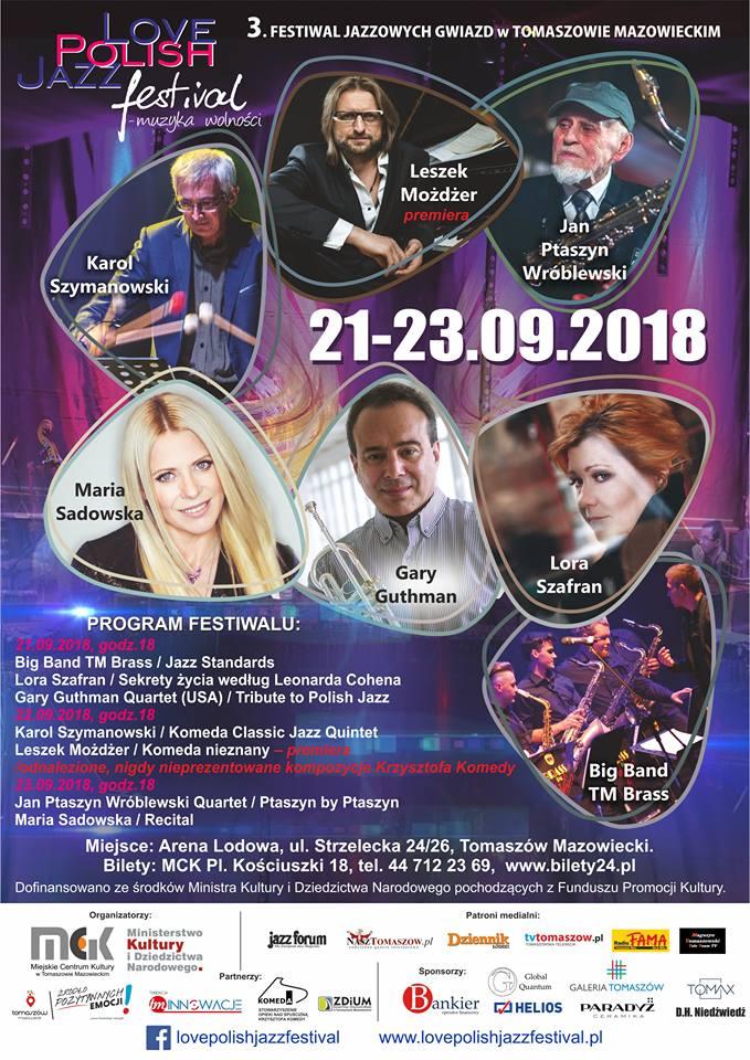 3. Festiwal Jazzowych Gwiazd w Tomaszowie Mazowieckim