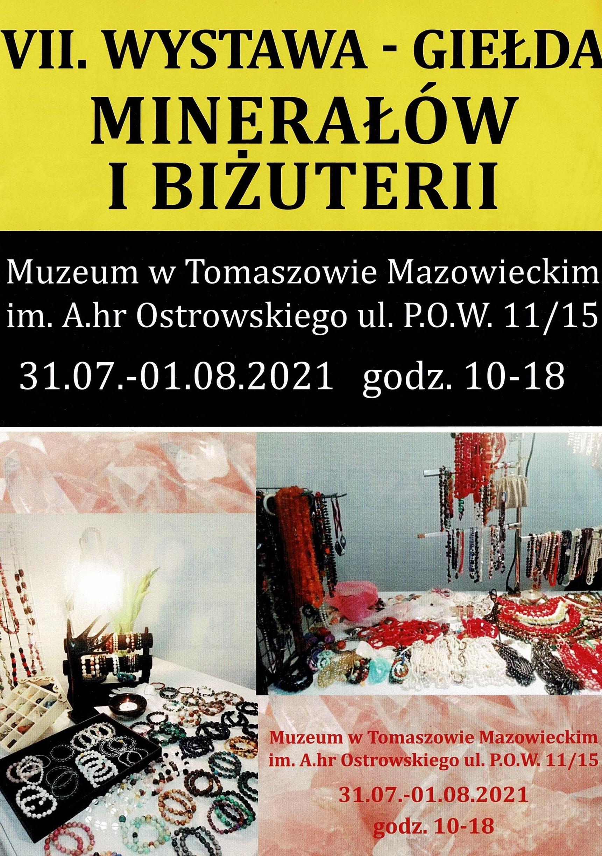 VII Wystawa - Giełda Minerałów i Biżuterii