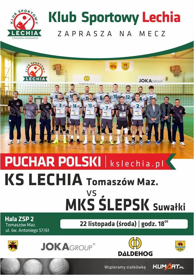 Mecz KS Lechia Tomaszów vs MKS Ślepsk Suwałki