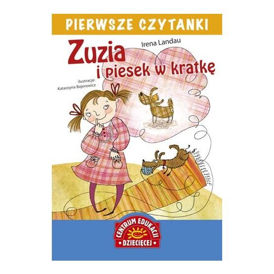 Głośne czytanie książki: ,,Zuzia i piesek w Kratkę