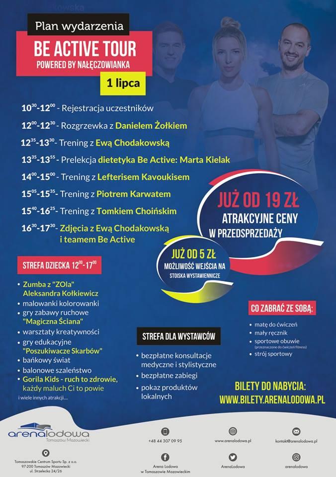 Be Active Tour - trening z Ewą Chodakowską