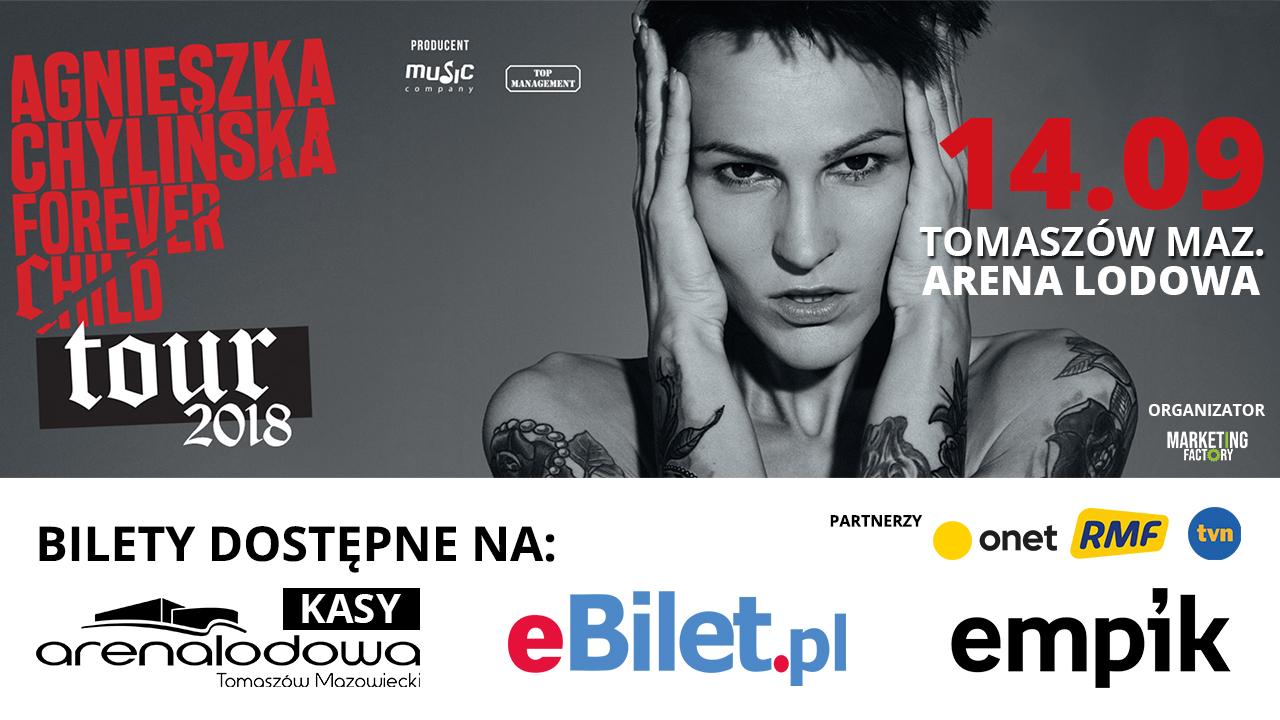 Koncert Agnieszki Chylińskiej w Tomaszowie Mazowieckim