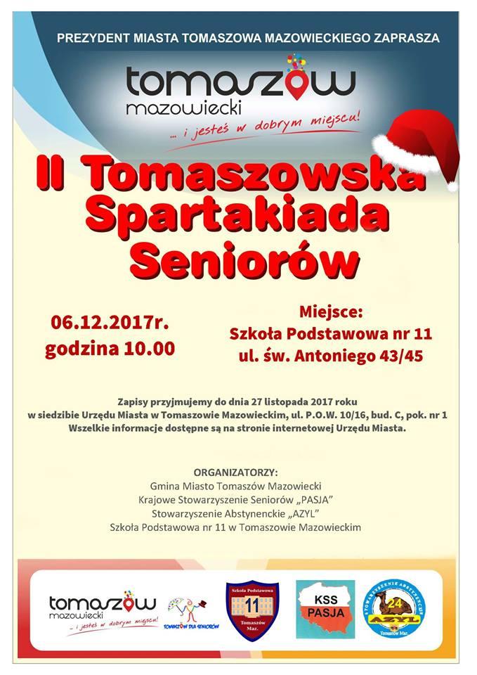 II Tomaszowska Spartakiada Seniorów