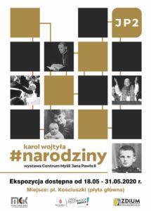 """Wystawa """"Karol Wojtyła. Narodziny"""" w stulecie urodzin Jana Pawła II"""