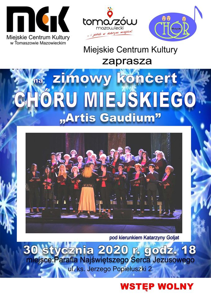 Zimowy koncert Chóru Miejskiego