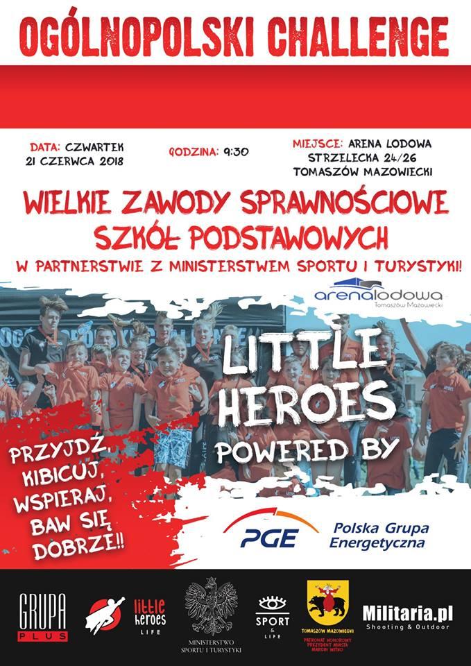 Ogólnopolski Challenge - Wielkie Zawody Sprawnościowe Szkół Podstawowych