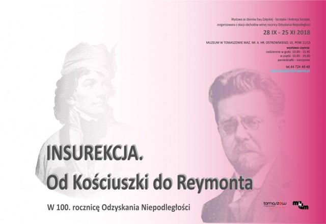 Otwarcie wystawy czasowej ,,Insurekcja.Od Kościuszki do Reymonta
